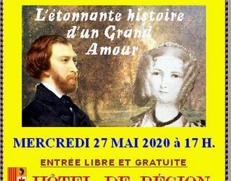 Claude Camous raconte : Alfred de Musset et Aimée Dalton,  L'étonnante histoire d'un « Grand Amour »…