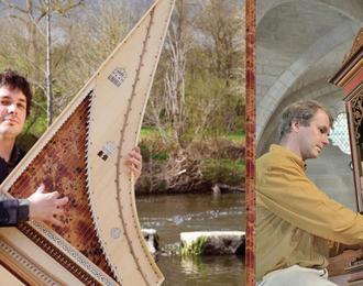 Concert clavecin et orgue avec Matthieu Boutineau et Francis Jacob