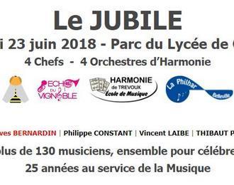 Concert du Jubilé - 25 ans de direction