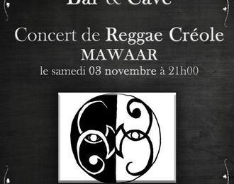 Concert gratuit de Reggae Créole avec Mawaar