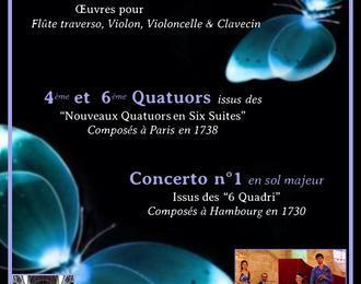Concert : ' Oeuvres de Telemann composées lors de son séjour à Paris '