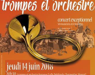 Concert Trompes et orchestre baroque