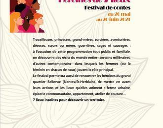 Contes a la calebasse (Heroines de 7 lieux-festival de conges)