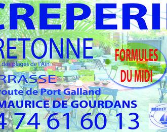 Crêperie du Port-Galland Saint Maurice de Gourdans