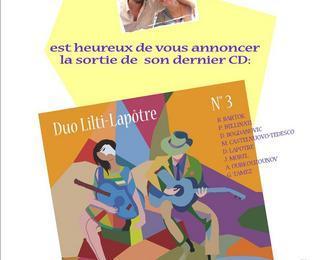 Duo de guitares lilti-lapôtre Amiens