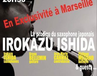 Exclusivité Le Jam Marseille : Hirokazu Ishida Quartet & Guests