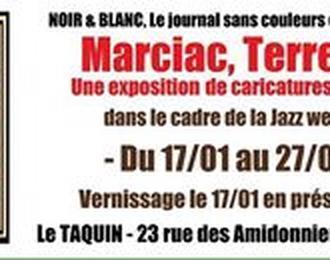 Exposition De Caricatures D'artistes De Jazz