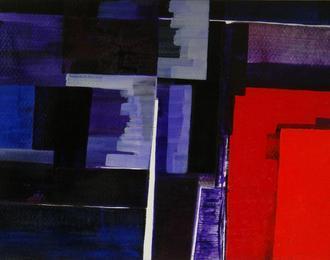 Exposition de peintures de Russell Boncey - Champs de couleur, paysages de joie