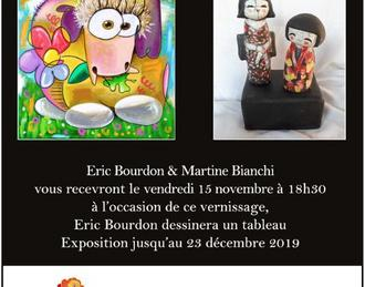 Exposition Eric Bourdon & Martine Bianchi