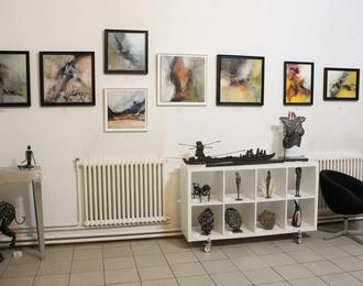 Exposition peintures et sculptures