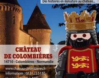 Exposition Playmobil au château de Colombières