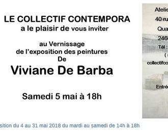 Exposition Viviane De Barba