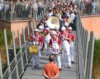 Fanfare de rue Pampana Notre Dame de Bondeville