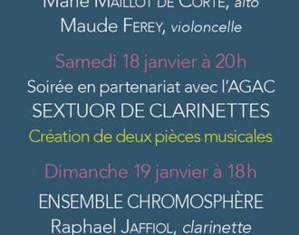 Festival des Hémisphères - Centenaire de l'Association des Anciens Elèves du Conservatoire de Nîmes