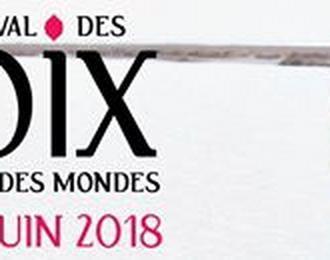 Festival des Voix, des Lieux, des Mondes 2018