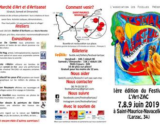 Festival L'art-zac 2019