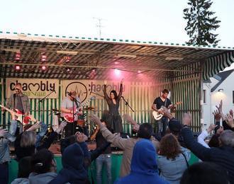 la Fête de la musique Chambly