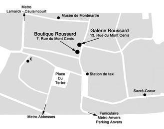 Galerie Roussard Paris 18ème