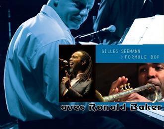 Gilles Seemann Quartet avec Ronald Baker