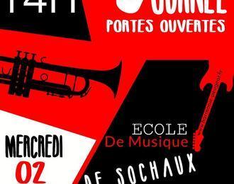 Journée Portes Ouvertes de l'école de musique de Sochaux