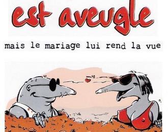 L'Amour est aveugle, mais le mariage lui rend la vue