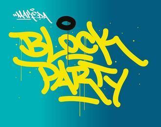 La Block Party du Dimanche Aprem par Cré-Scene & Orizon Sud Public · Organisé par Le Makeda