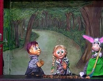 La chanson du père Noël: Spectacle de marionnettes