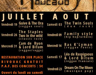 La Guinguette du Petit Moucaud - The Staples - Two in the wild