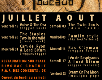 La Guinguette du Petit Moucaud - The Twin Souls