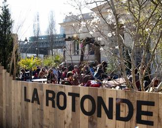 La Rotonde De Stalingrad Paris 19ème
