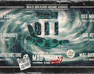 Le Cargö x M.A.D Brains | Keith Carnal, Chris Honorat, Joss Moog