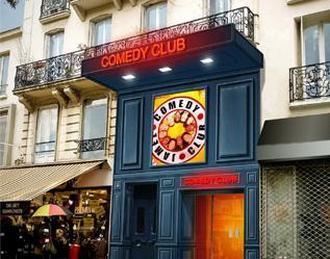 Le comedy club Paris 10ème
