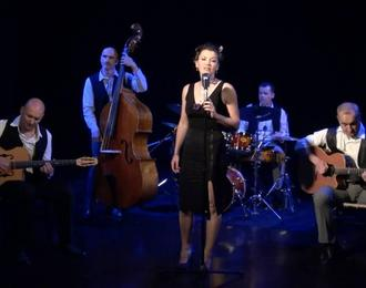 Les Accordés Swing en concert au Festival Les Celliers du Jazz