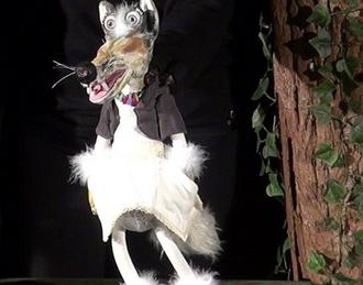 Les couleurs de Loup. Marionnette jeune public à paritr de 3 ans