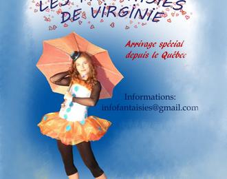 Les fantaisies de Virginie par la Cie Les Fantaisies