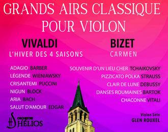 Les Grands Airs Classique pour Violon