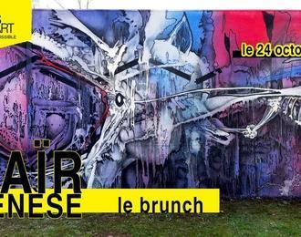 Les Vivres de l'Art • Expo Saïr - Le Brunch