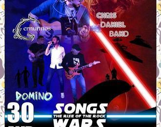 Loganarts présente: Chris Daniel band, Domino, Cernunnos
