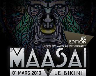 Maasai #6 / Major7 X-Noize DJ HP Illegal Machines Shakuray