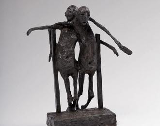 Marc Petit - sculpture, bronze
