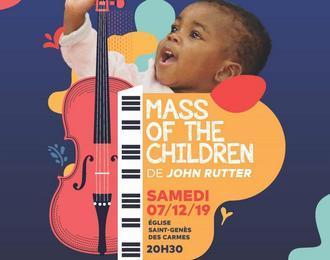 Mass of children