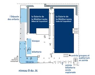Mucem le Musée des Civilisations de l'Europe et de la Méditerranée Marseille