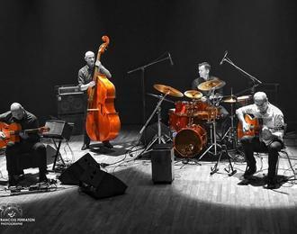 Mystèretrio Quartet en concert au Jazz Club du Languedoc