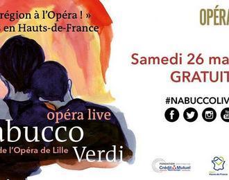 Nabucco Live : un opéra en région