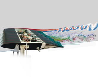 Nouveaux designs pour les ailes d'avion du futur bioinspirées