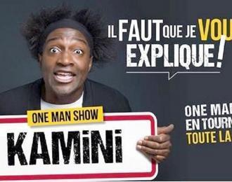 One Man Show de Kamini pour enfin rire à pleines dents