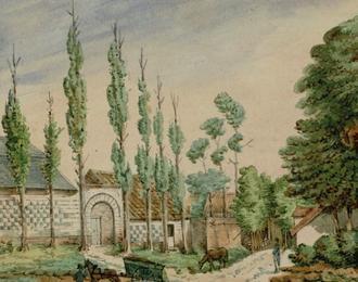 OSWALD MACQUERON de Cayeux-sur-Mer à Condé-Folie : un aquarelliste du XIXe siècle sur notre territoire ABBEVILLE
