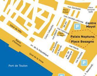 Palais des congrès Neptune Toulon
