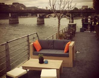 Péniche la Balle au Bond Paris 6ème