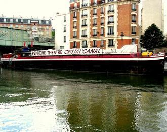 Péniche Théâtre Cristal'Canal Epinal